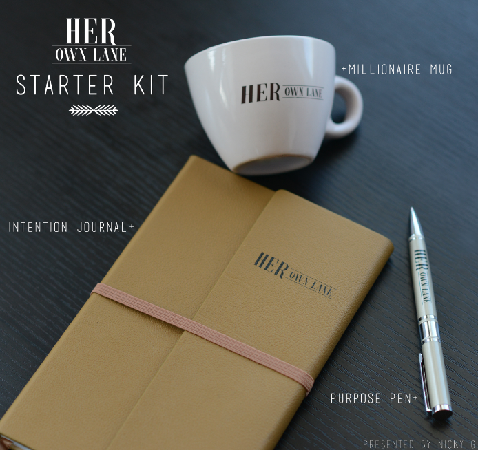 "The top questions I receive is: ""How do I get started?"" and ""What are your secrets to success?"" That's why we created the Starter Kit to get you... well, STARTED! + THE MILLIONAIRE MUG: The average millionare wakes up between 6am-7am... so why not start that habit now? The Millionaire Mug is here to get us into that millionaire mindset! 